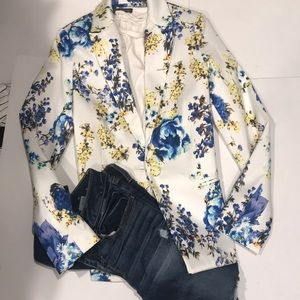ASOS NWT Floral Blazer